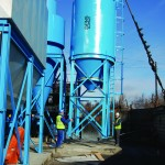 material feeding and conveying systems storage silos STB engineering