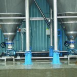 STB Engineering Blending Cones Discharge