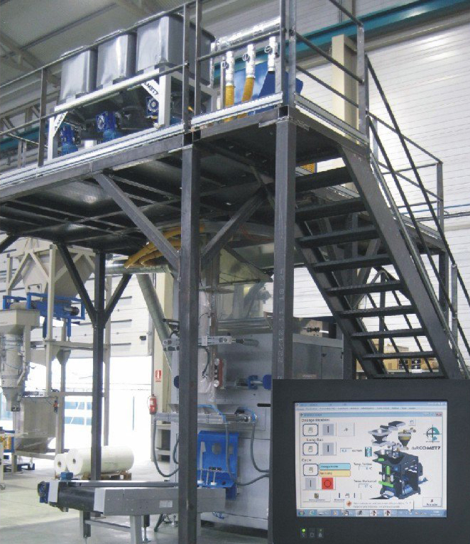 Automated Big Bag Handling STB Engineering Machines