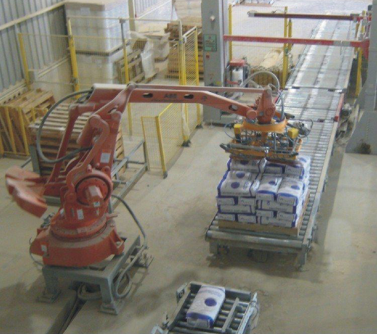 STB Engineering Robot Pallertizers Bulk Materials Conveying
