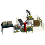 Robot Bag Wrapping Conveying Machines STB Engineering
