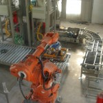STB Robotic Palletizer with Vacuum Grip Bulk Material Transfer
