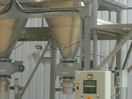 STB engineering material weighing and conveying
