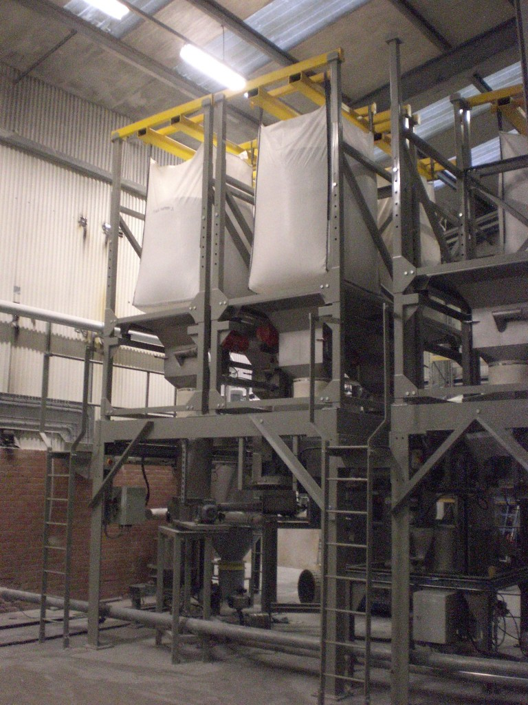STB Big Bag and Sack Discharge Systems