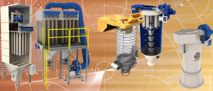 STB enginerring dust extraction dust collectors