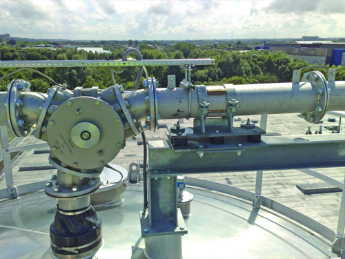 STB engineering pneumatic conveying systems