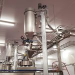 6. Bulk rice handling from FIBC dischargers & pneumatic conveying solutions for rice pouch filling.